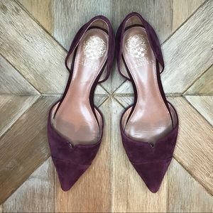 Vince Camuto pointy toe flats
